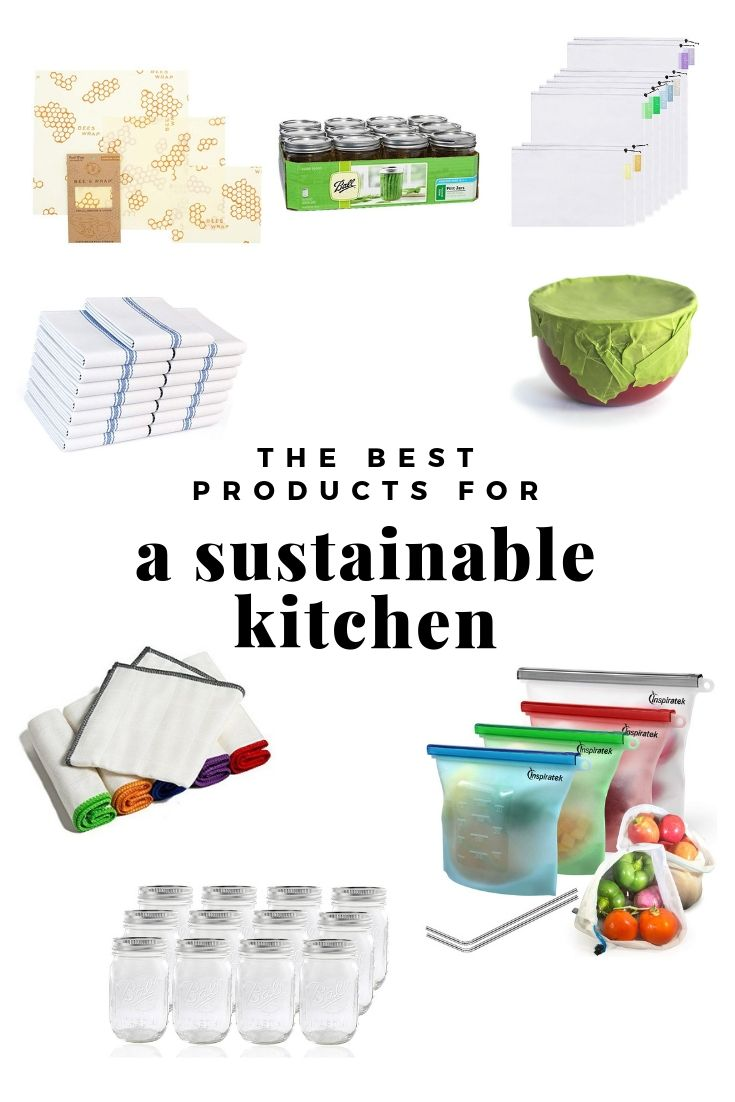 Best Products for a Sustainable Kitchen