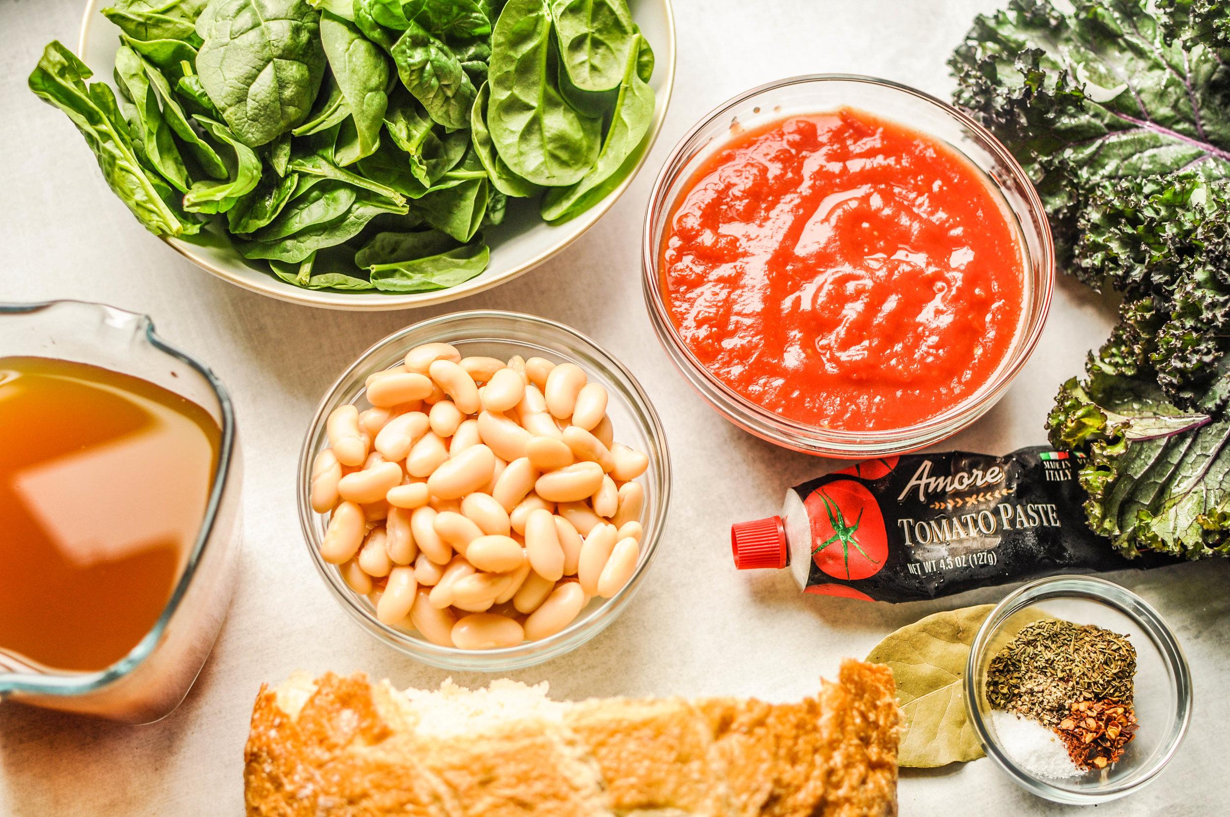 Ribollita Ingredients