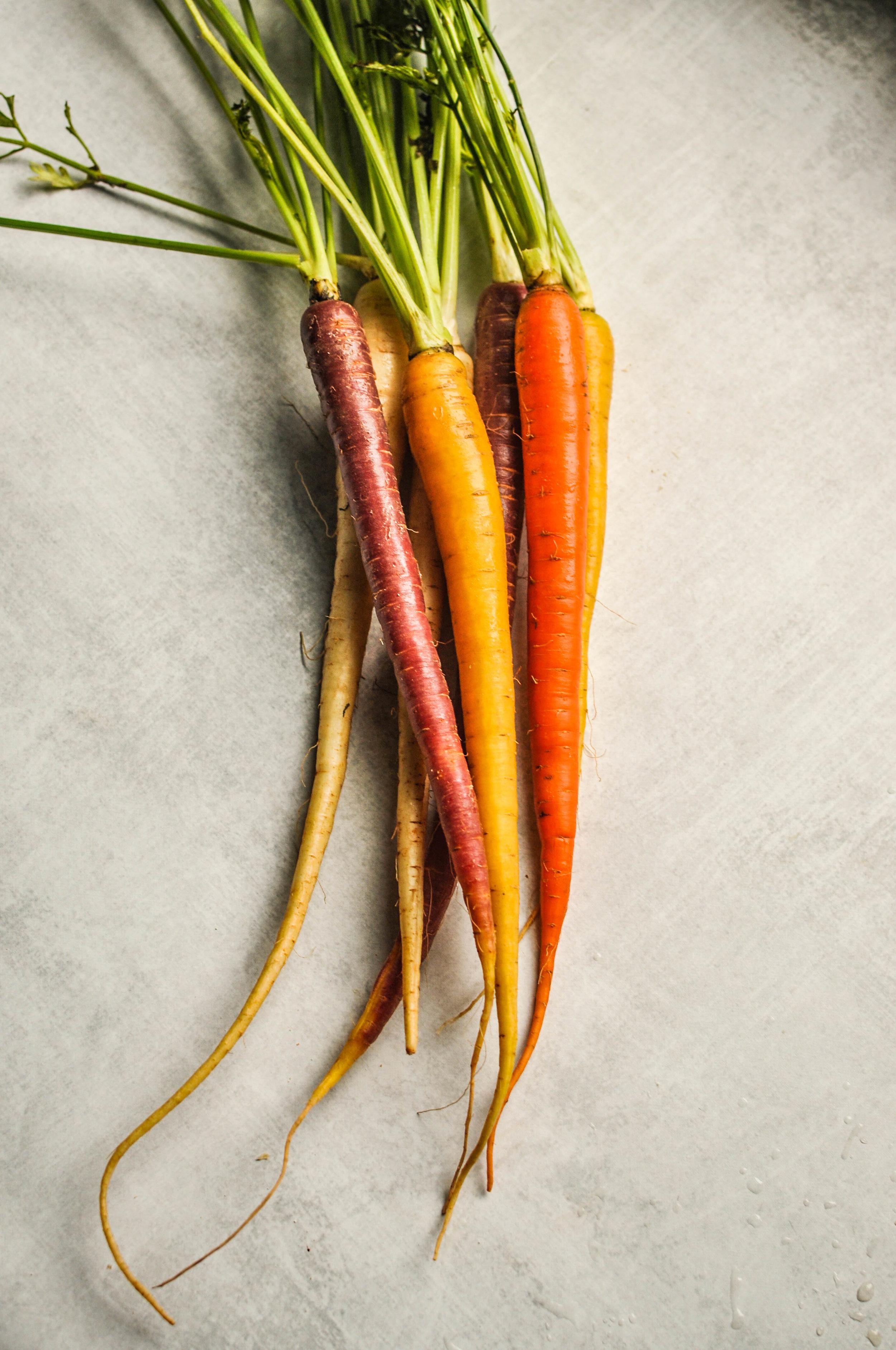 Ribollita soup ingredients - carrots