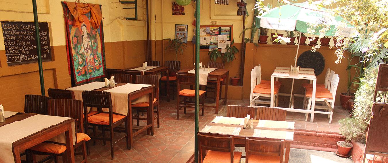 Rosemary Kitchen & Coffee Shop in Kathmandu, Nepal