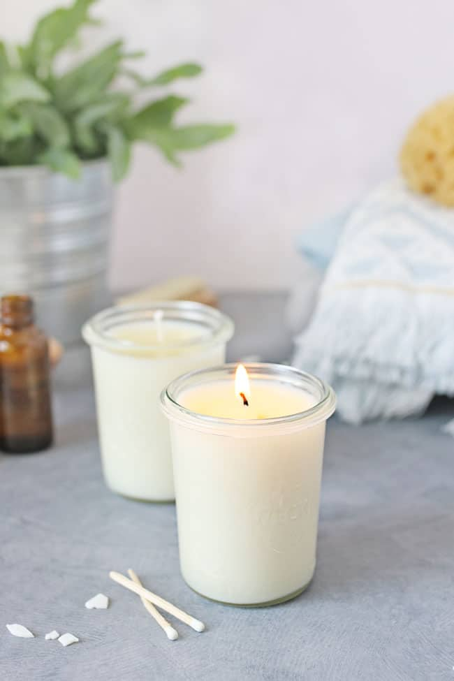 DIY Massage Candles from Hello Glow.