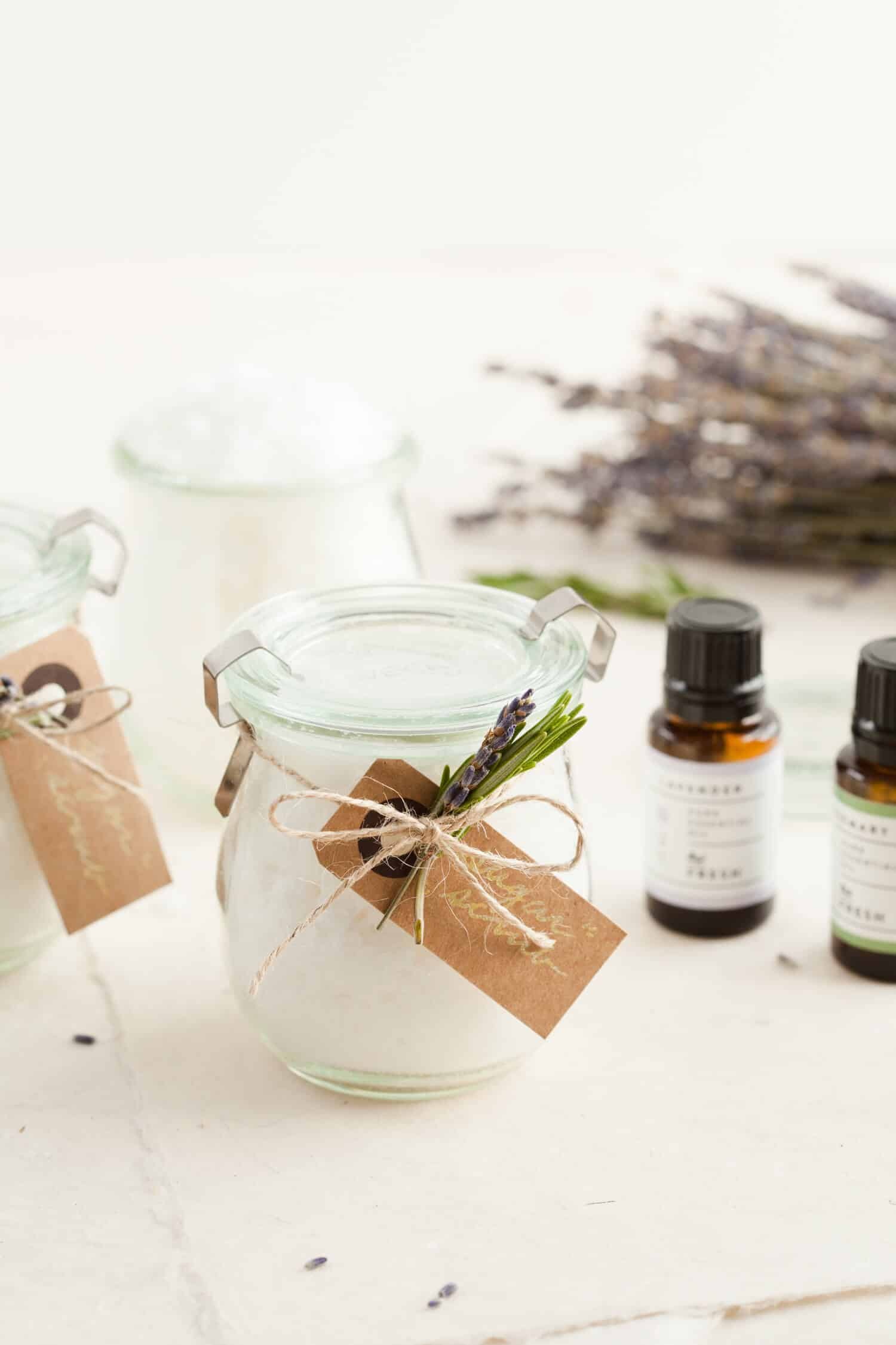 Rosemary and Lavender Sugar Scrub from A Beautiful Mess