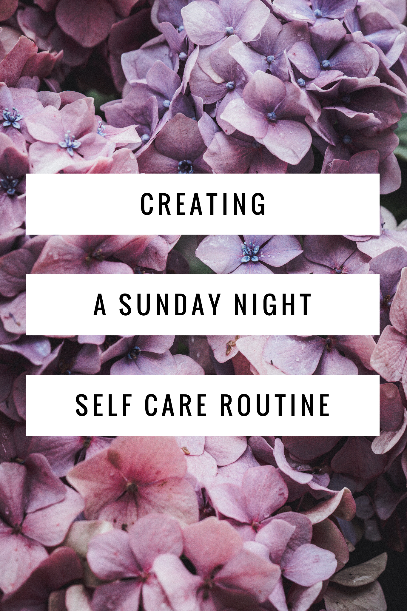 Here's a bunch of ways to create a Sunday night self-care routine. #selfcare #spaday