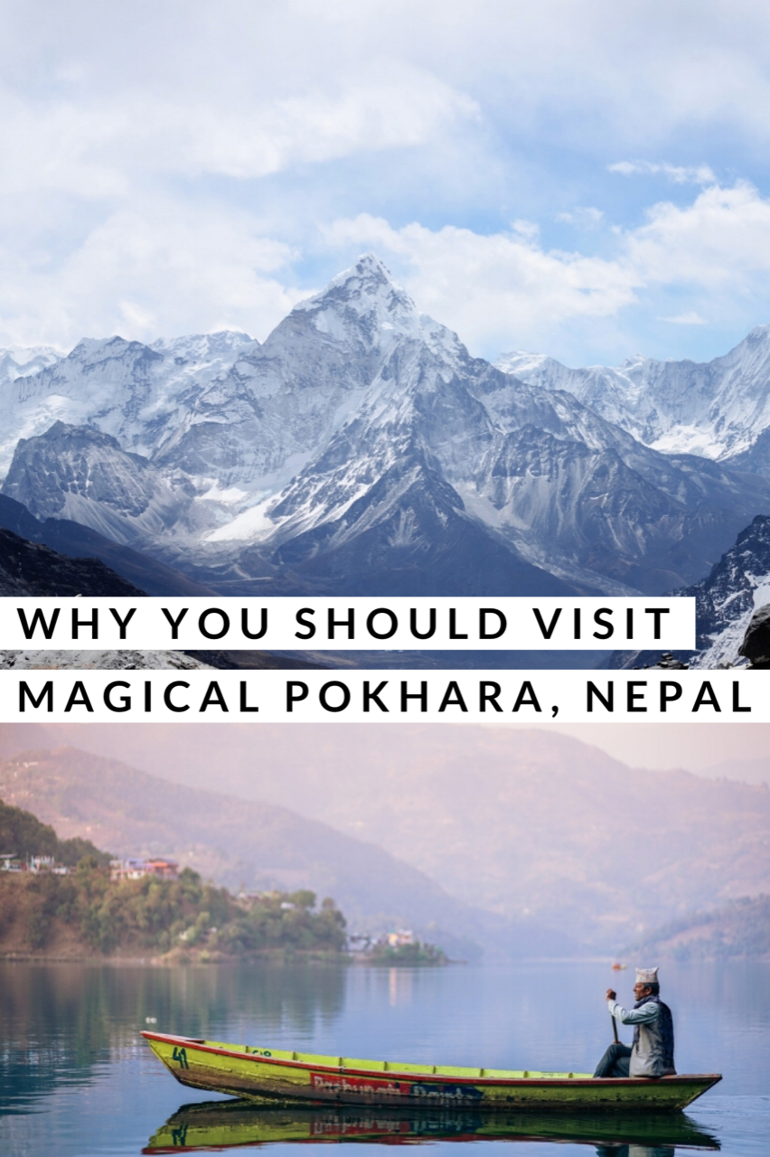 Pokhara, Nepal is full on magical. It's got it all - lots of adventurous activities, great food, and accommodations to fit all budgets; but what it really has is MOUNTAINS!