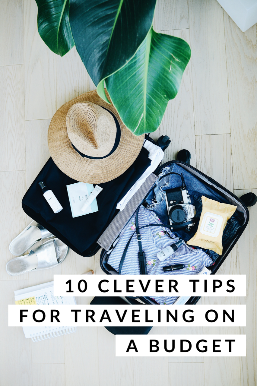 10 Clever Tips for Traveling on a Budget! All the best ways to see the world but do it on the cheap.