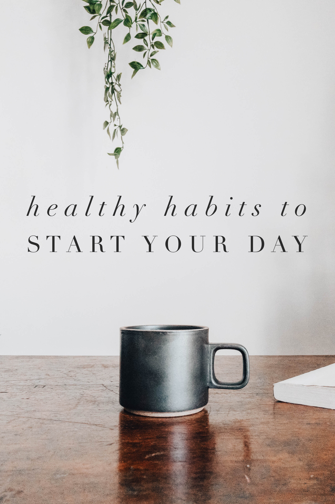 Healthy Habits to Start Your Day. Creating a healthy morning routine sets your day up for success. Lots of successful and happy people create simple morning routines that include meditation, drinking water, and setting positive intentions. #selfcare #wellness