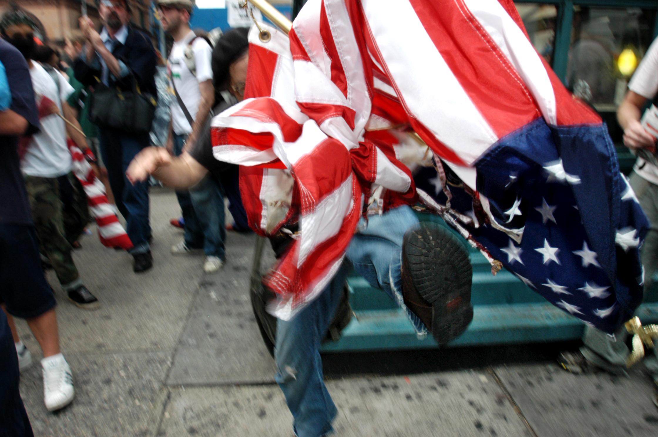 Flag Day, New York City