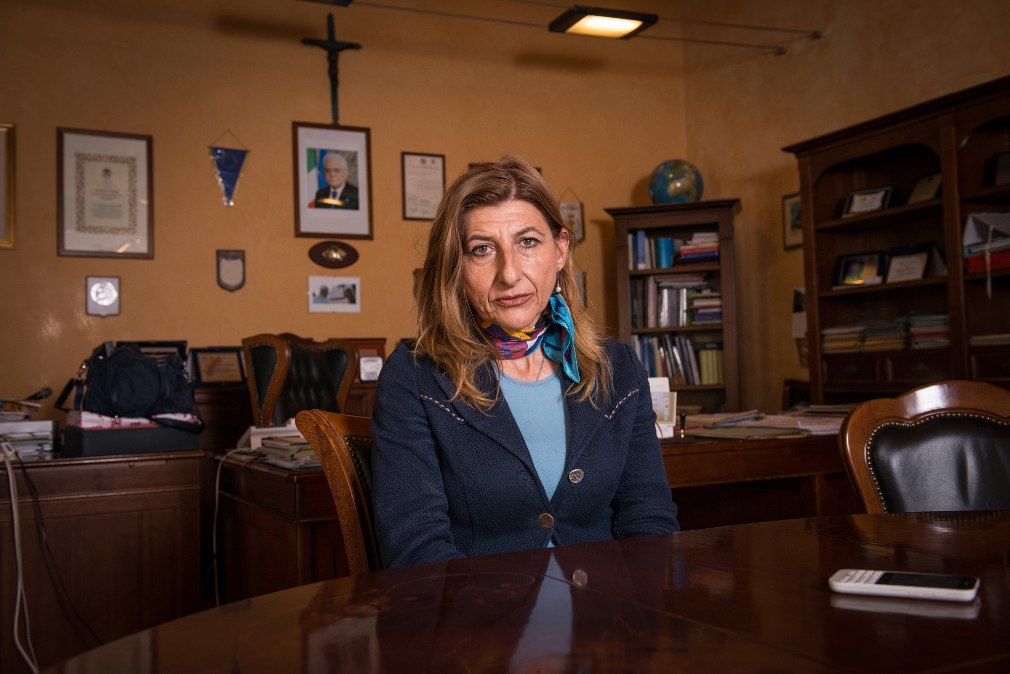 Giusi Nicolini, mayor of Lampedusa, has seen refugees greatly outnumber the Italian Population of her little Island, and has not lost her compassion for the people who undertake this perilous journey.