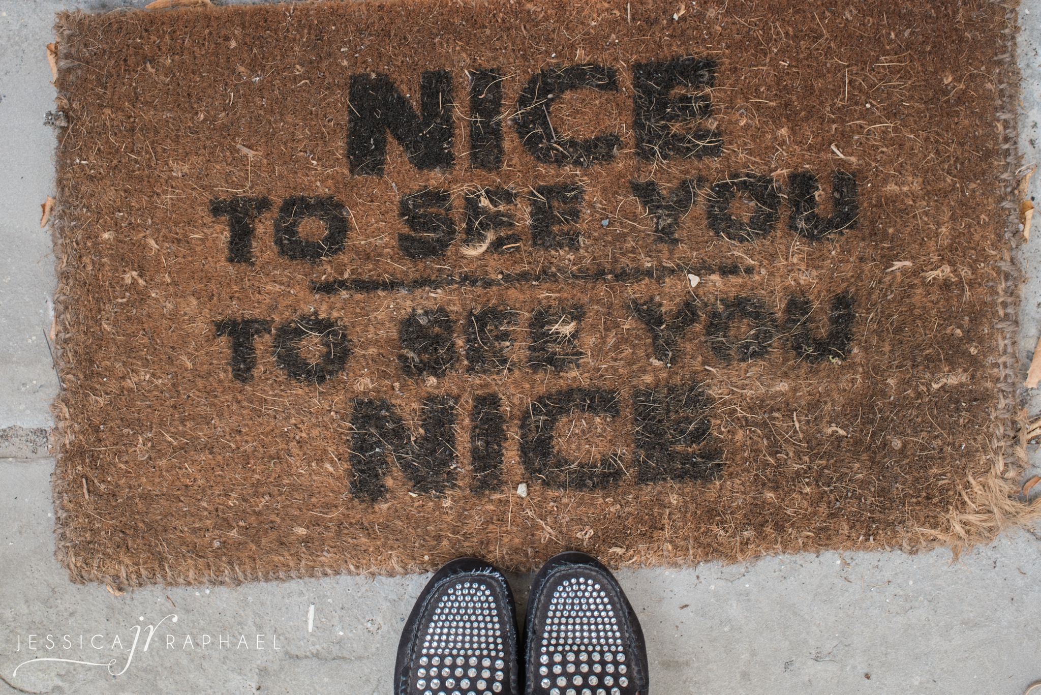 Two of my very special squirrel sister brides might recognise this doormat....it certainly made me smile when I arrived on the morning of Gracie's wedding.
