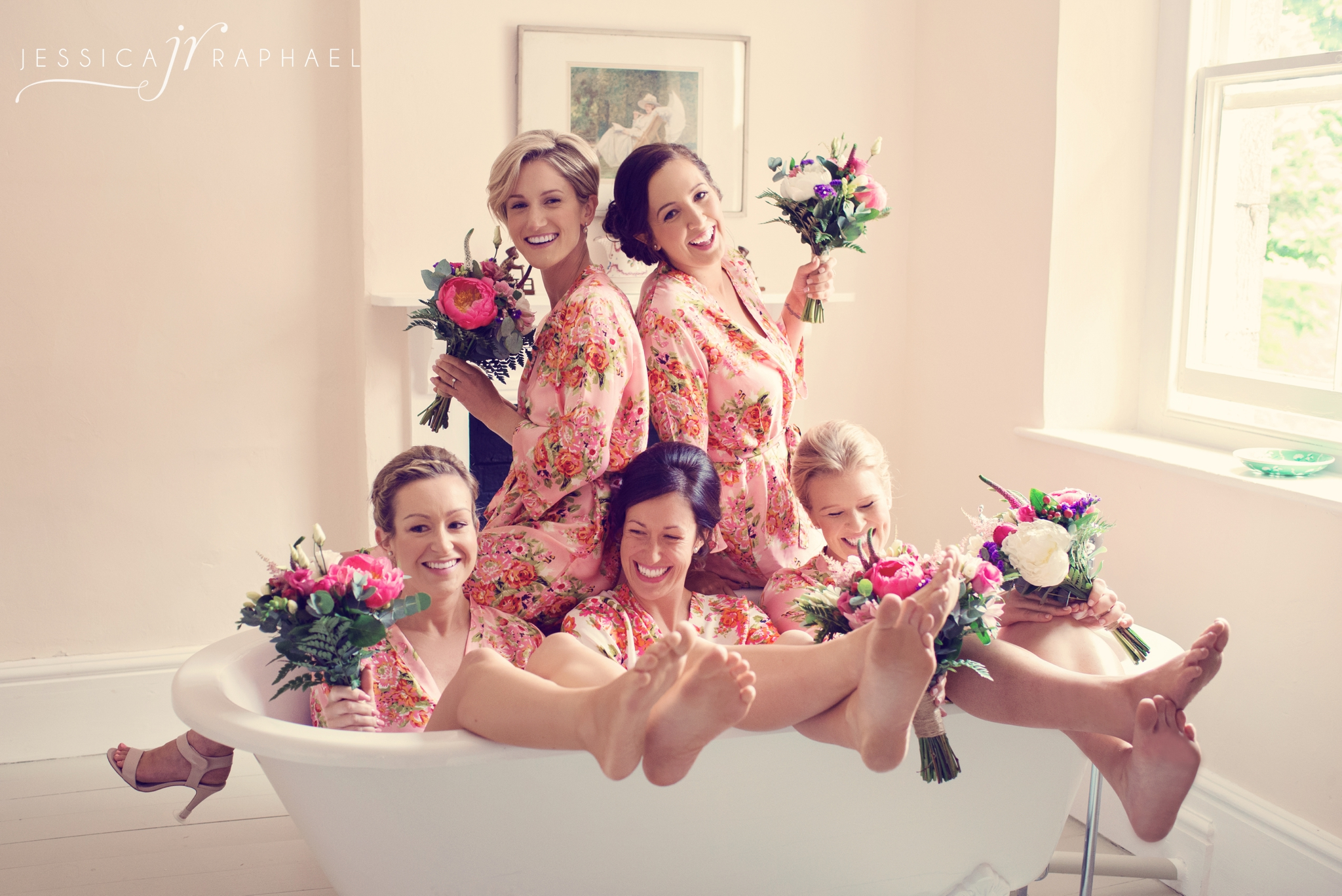 """""""Right, come on girls! I want you all in the bathtub."""""""
