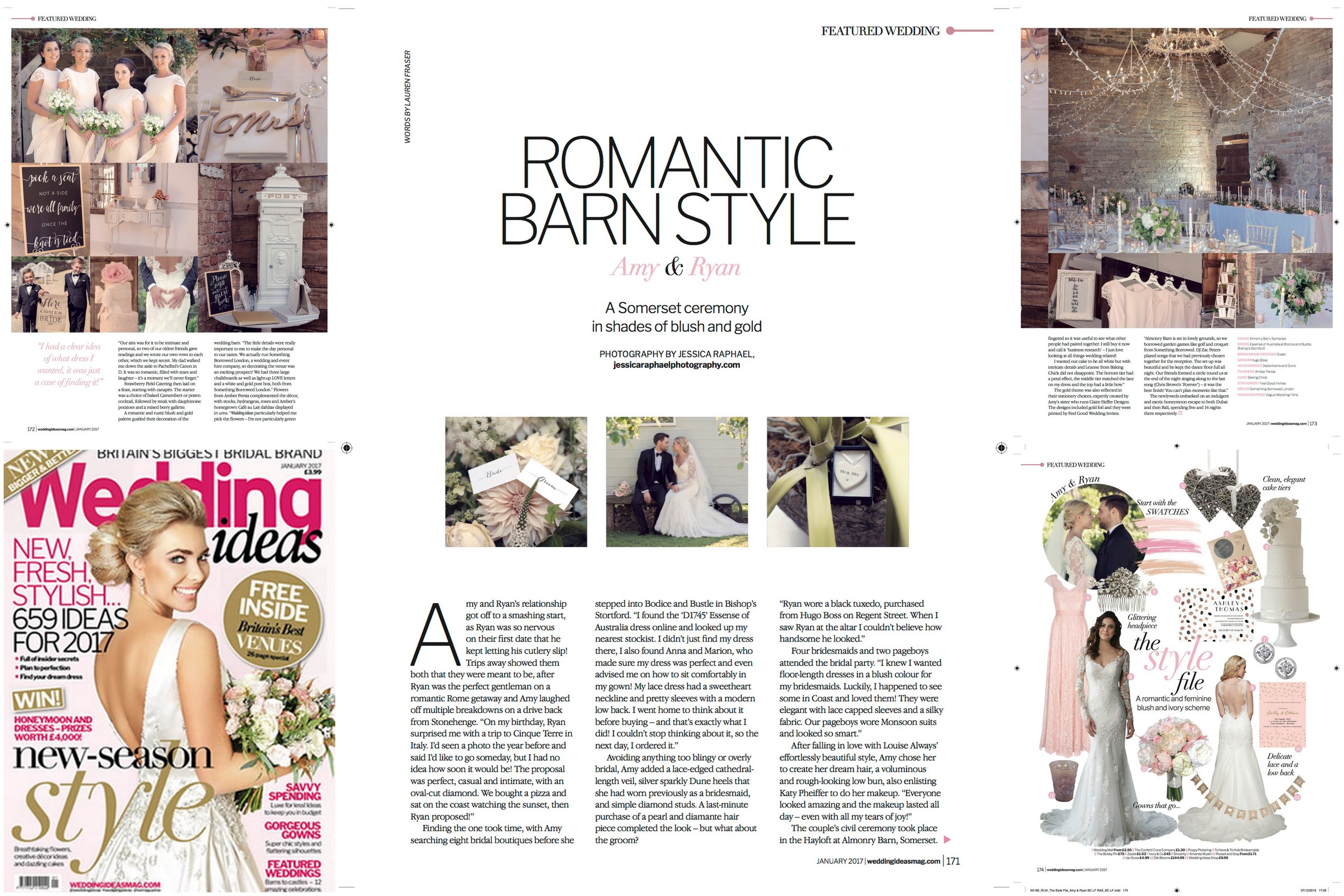 So grateful to have been featured on numerous blogs & Weddings Ideas Magazine. Oh, & VOGUE!