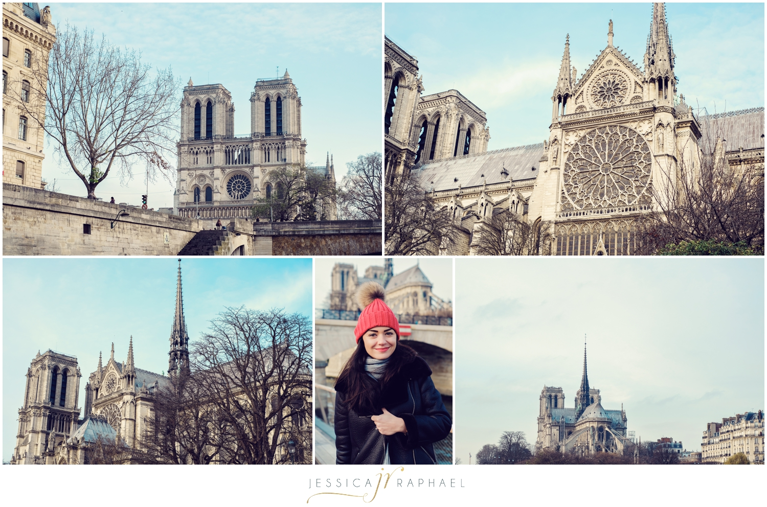 In a complete whirlwind on the boat passing Notre Dame.
