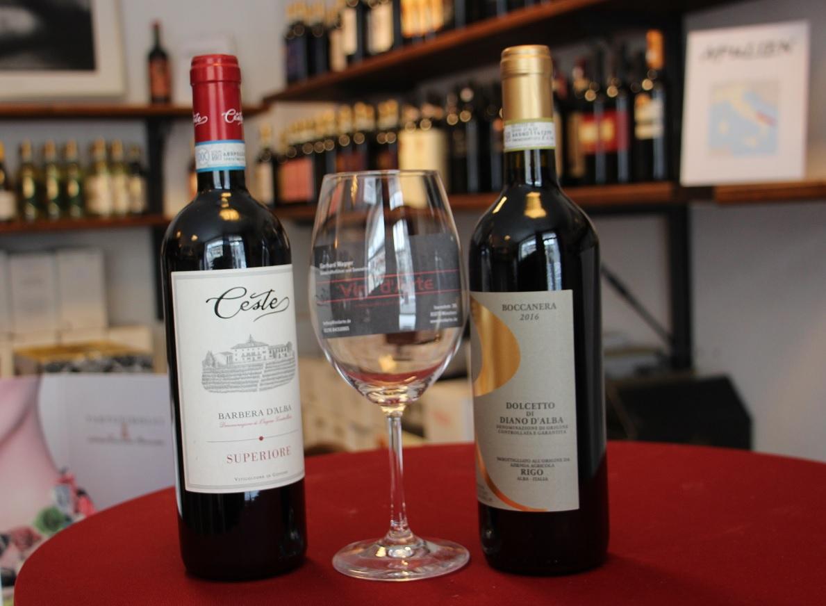 Piemont - mit Weinen von Ceste und Rigo20,00 EUR p.P inkl. alle Weine und Essen.Samstag 21.09.19 um 18 h