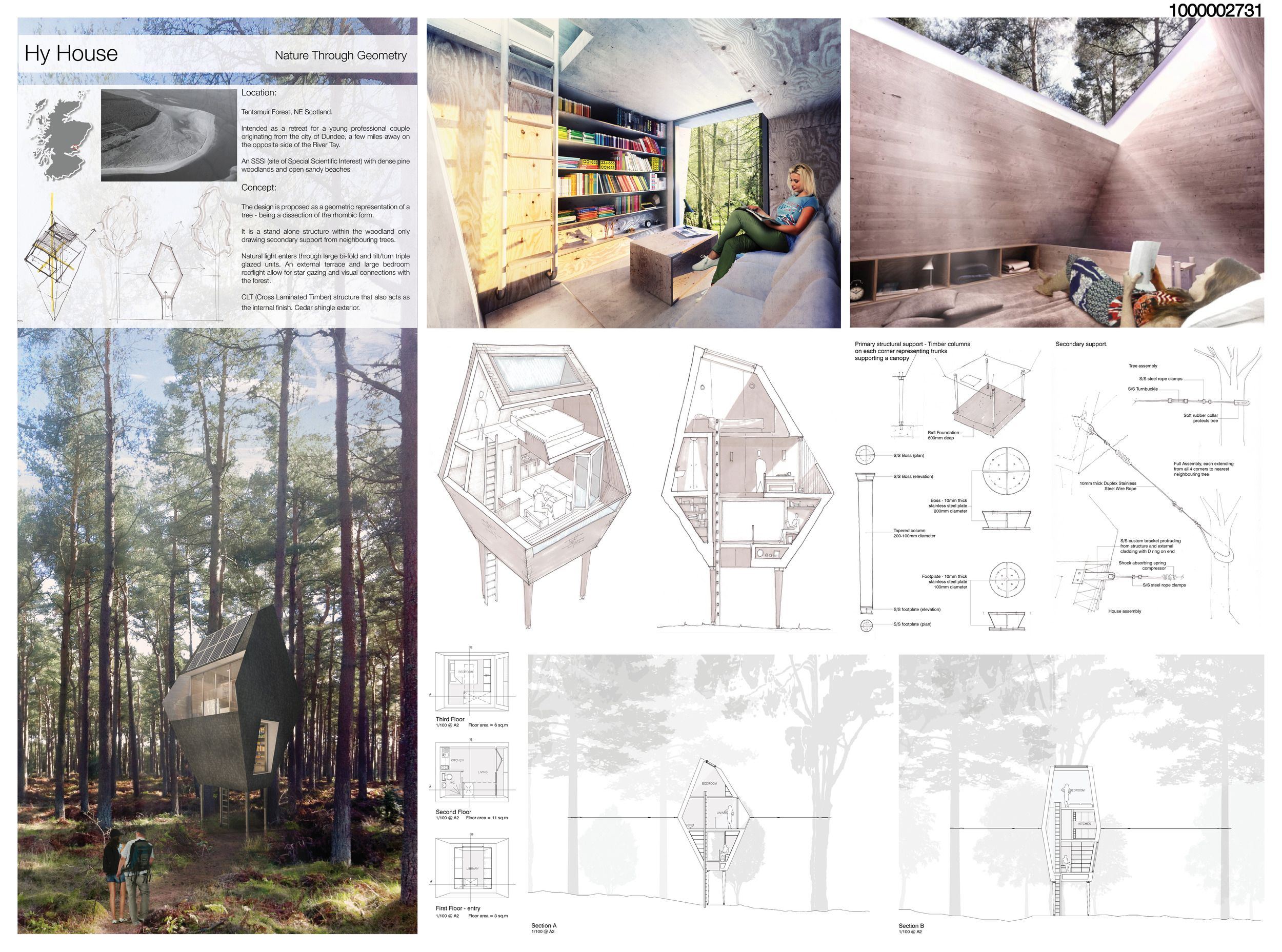 Presentation Image for ArchTriumph Treehouse