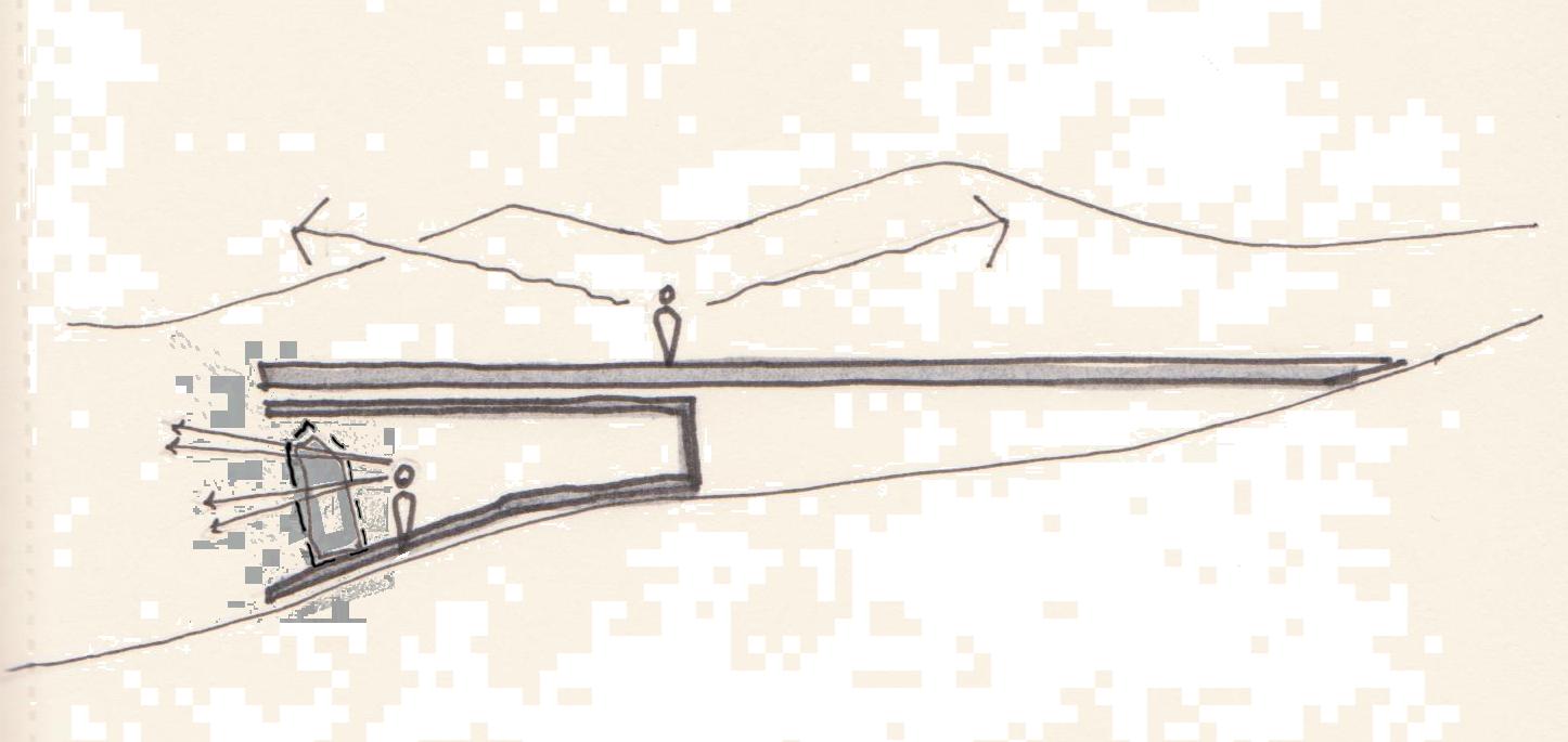 Scenic Route - Parti Sketch