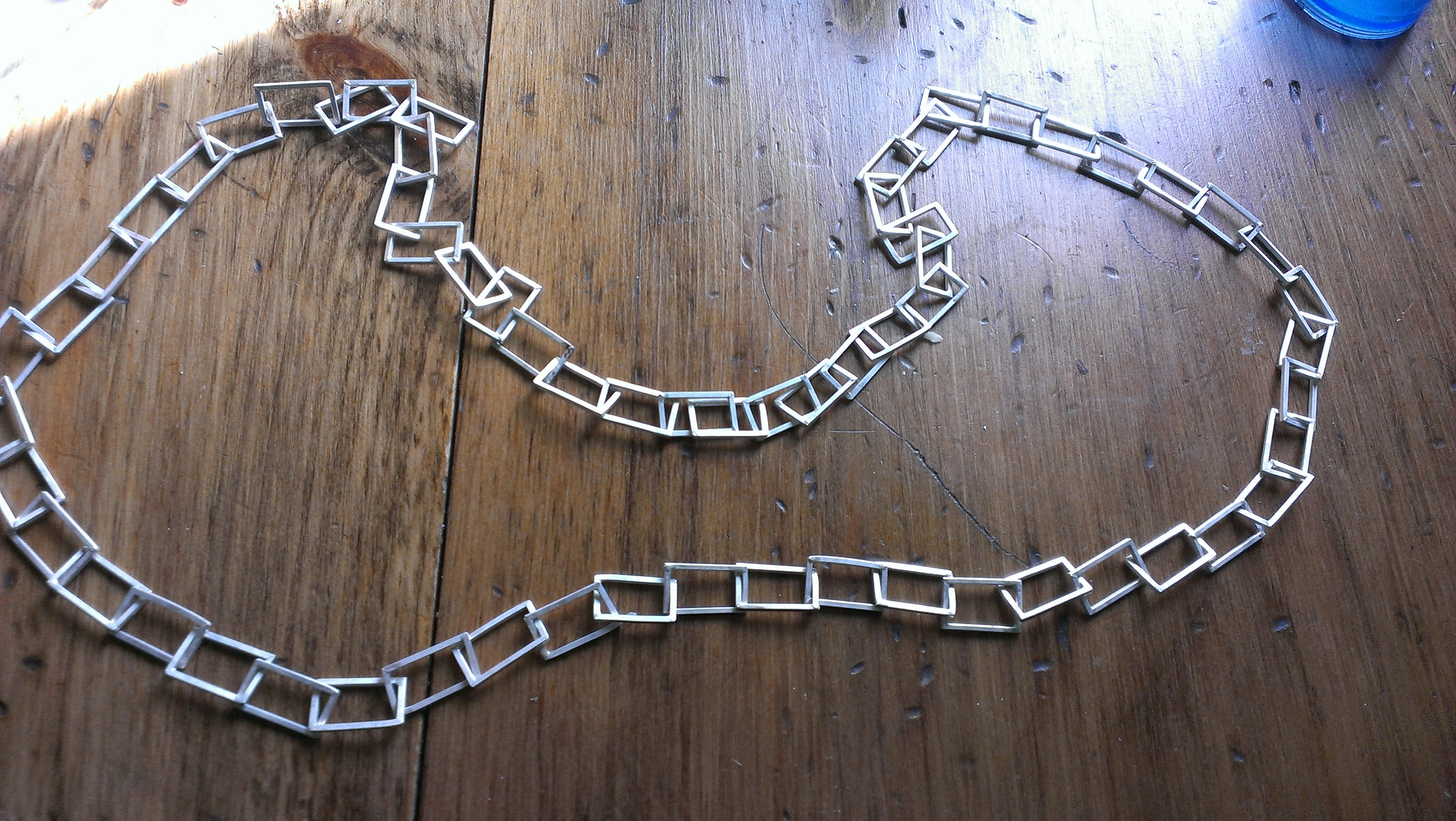 All the links fully assembled.