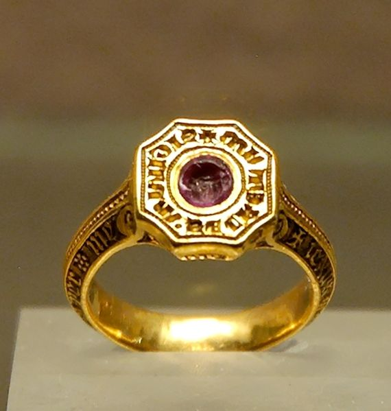The Signet Ring of the Black Prince. Late 14th Century