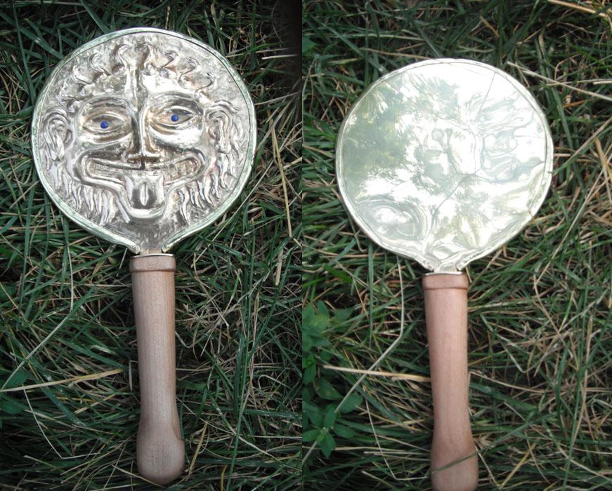 Reproduction Greek mirror