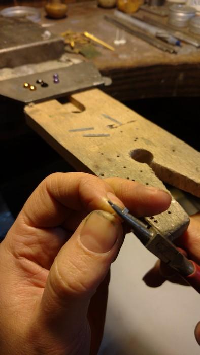 Bending them for soldering
