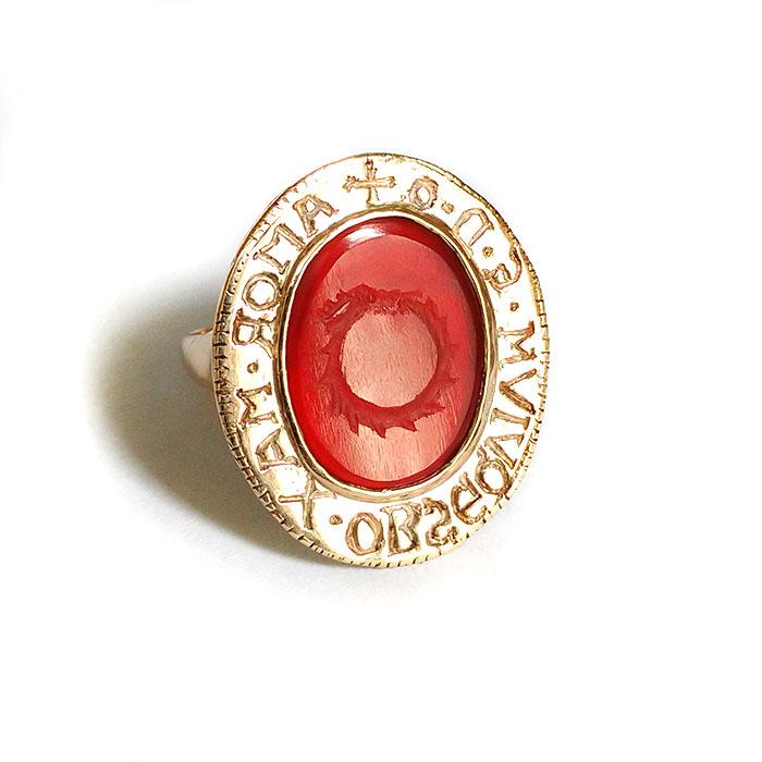 Custom Intaglio seal ring