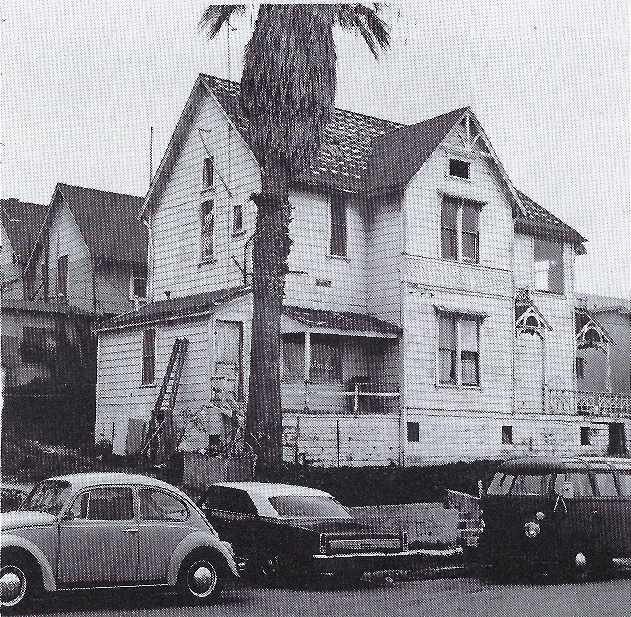 Prior to renovation, circa 1974