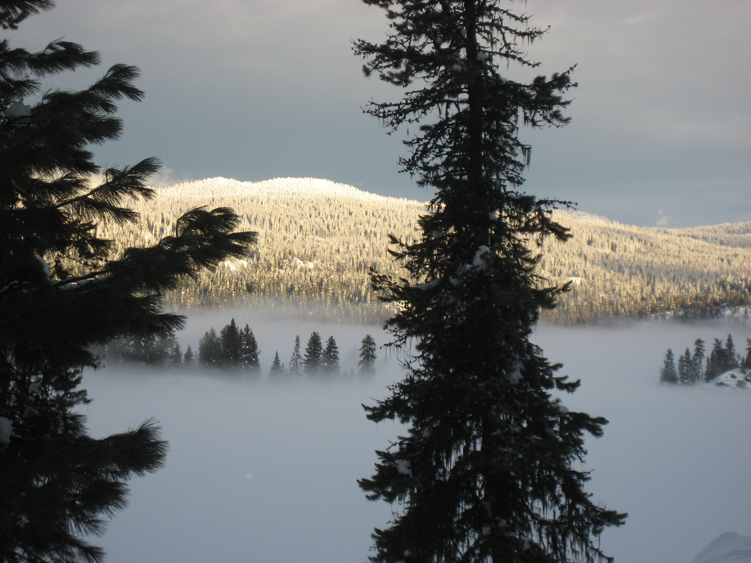 Payette Lake in winter.