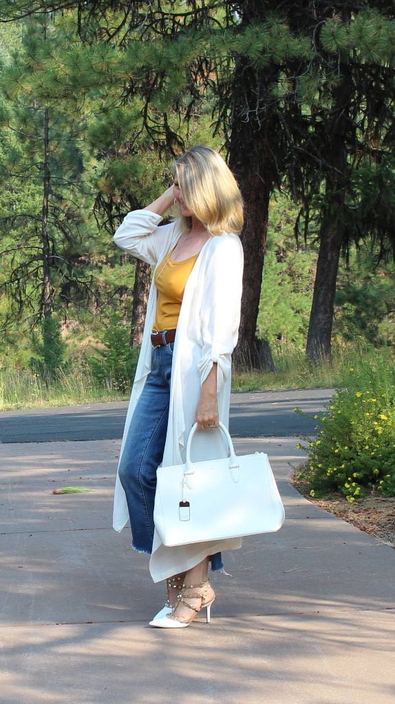 http://www.northwestmoutainliving.com Kick Flare Jeans