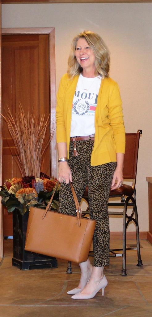 http://www.northwestmountainliving.com Leopard Pants