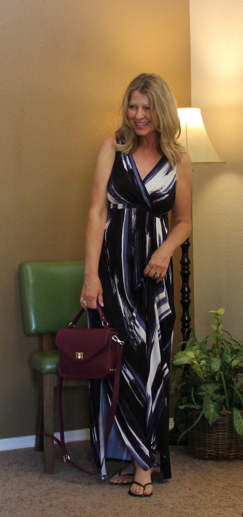It's Maxi Season - Spring and summer are the times of year when I wear a maxi dress the most.