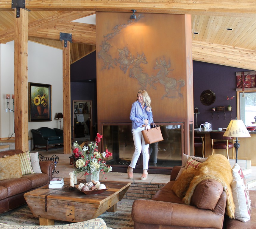 The greatroom . . . - My favorite place in the house is our great room. But it is a decorating challenge to say the least. It has to be functional and comfortable and is due for an update. Mountain home styles are unique to say the least.