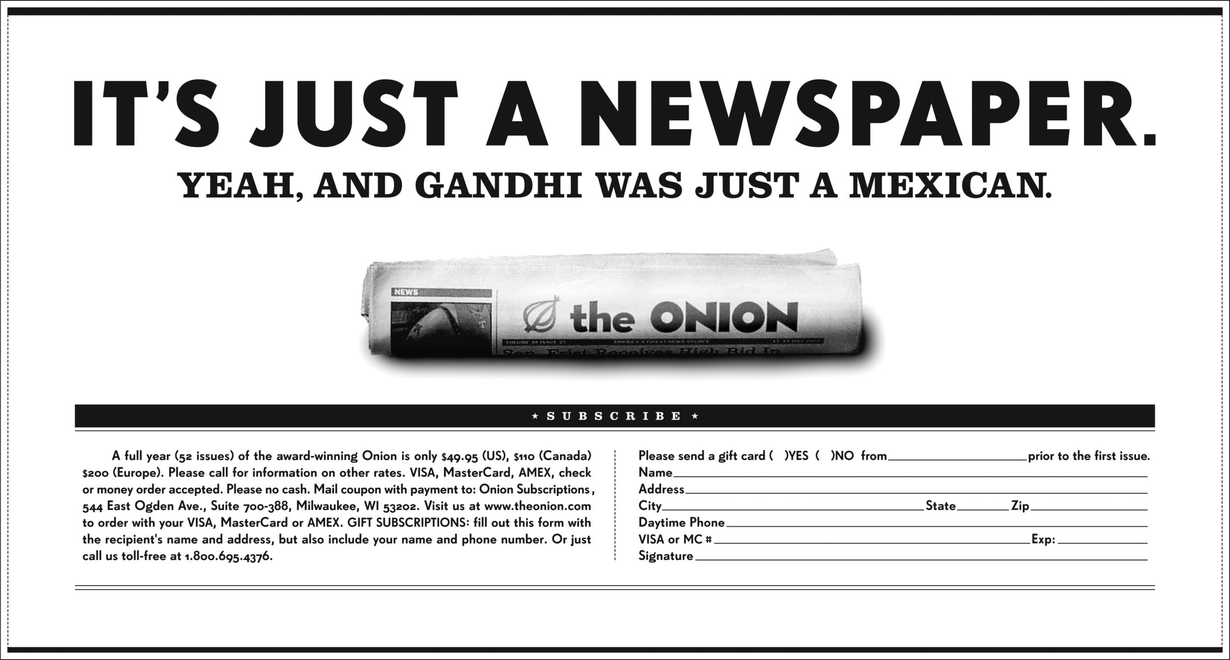 1. The Onion.Gandhi.jpg