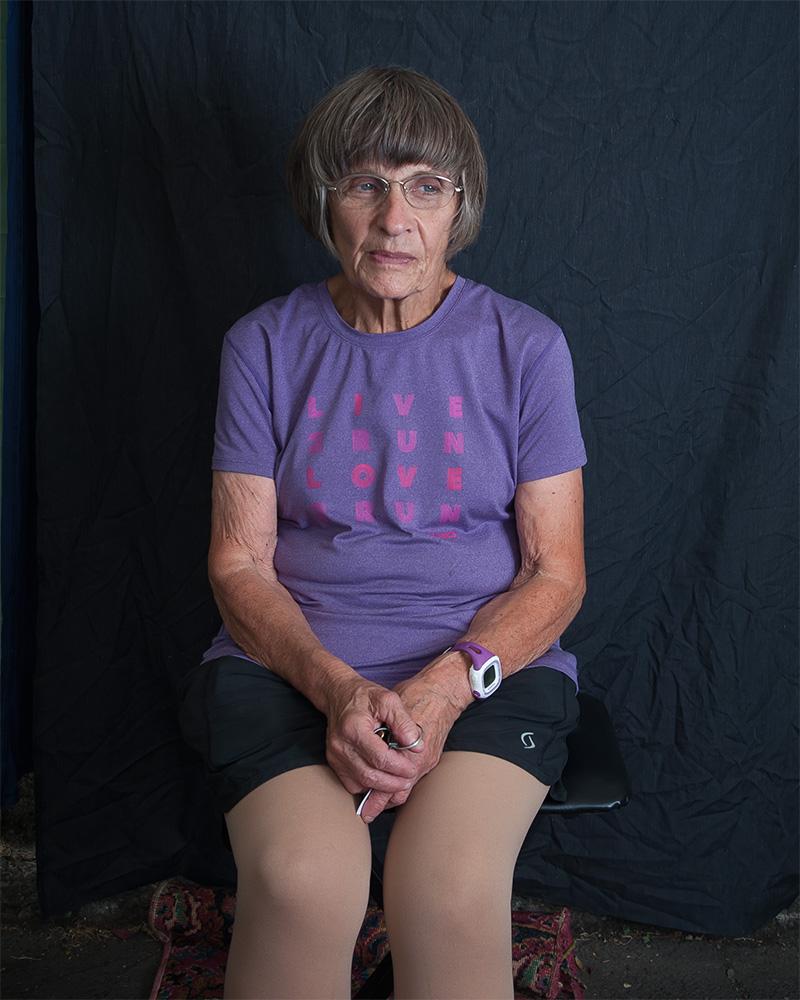 Carol Craig. Sellwood Farmers Market. Portland, Oregon