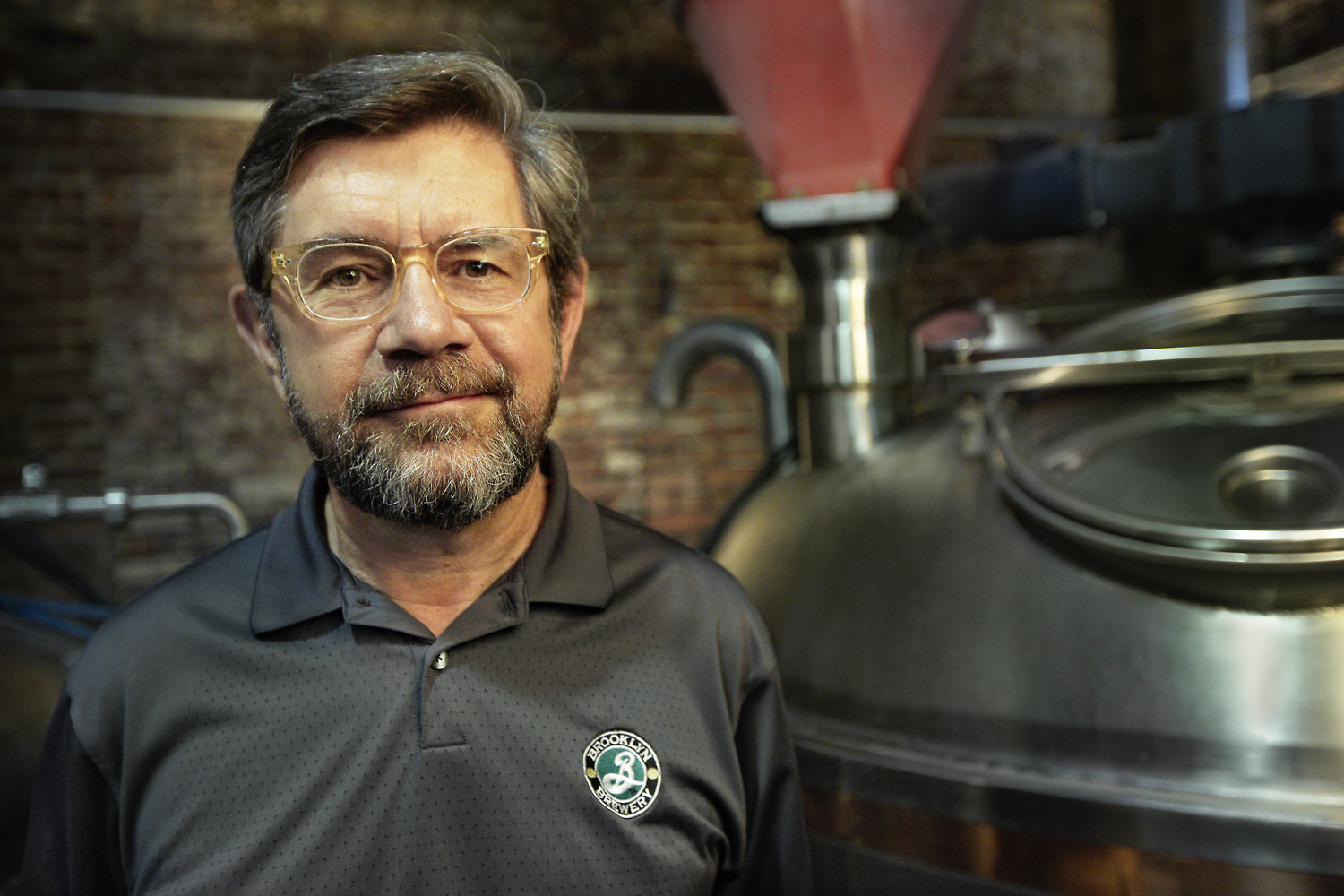 Steve Hindy at the Brooklyn Brewery
