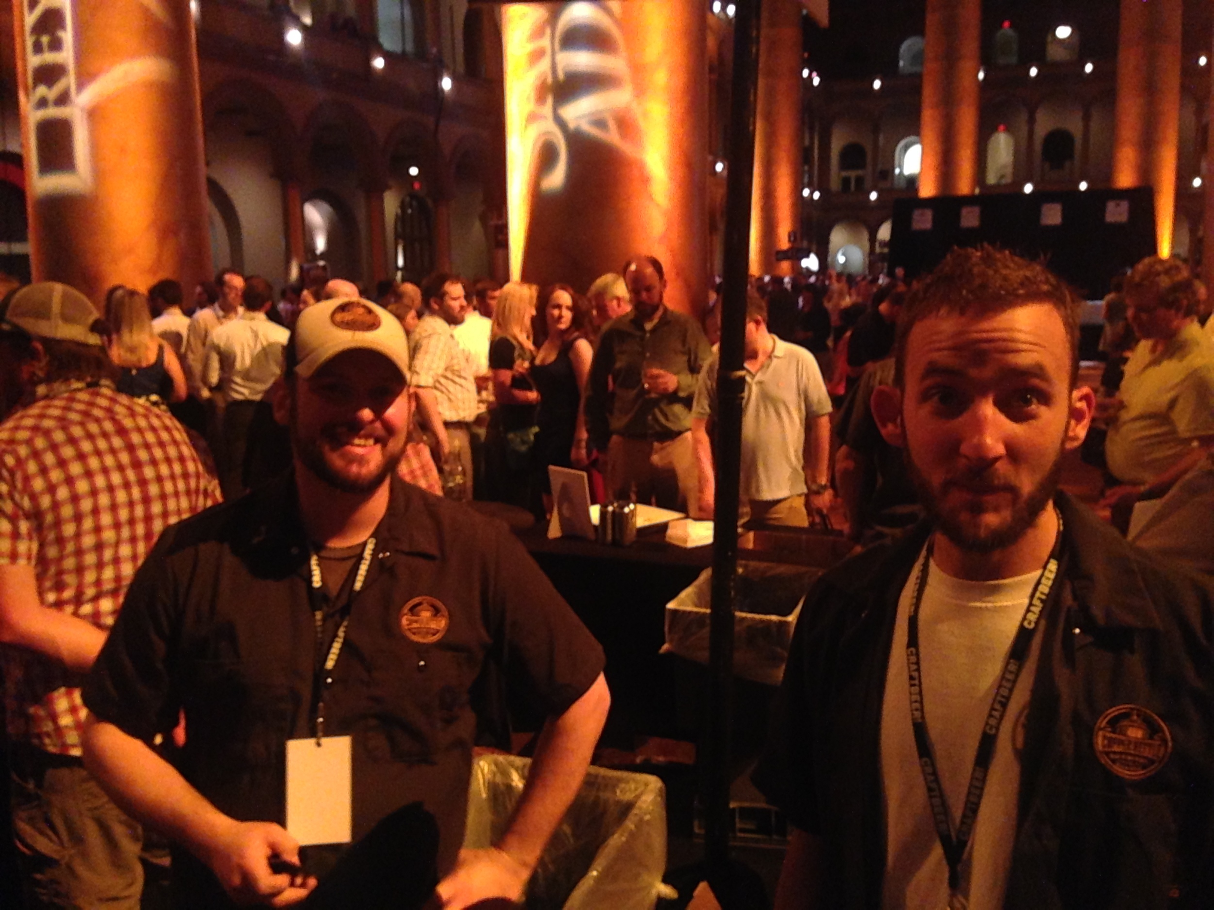 Awesome fellas from Copper Kettle Brewing out of Denver!