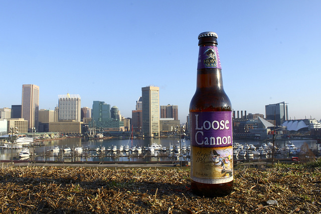 Baltimore Harbor and Heavy Seas best seller - Loose Cannon IPA