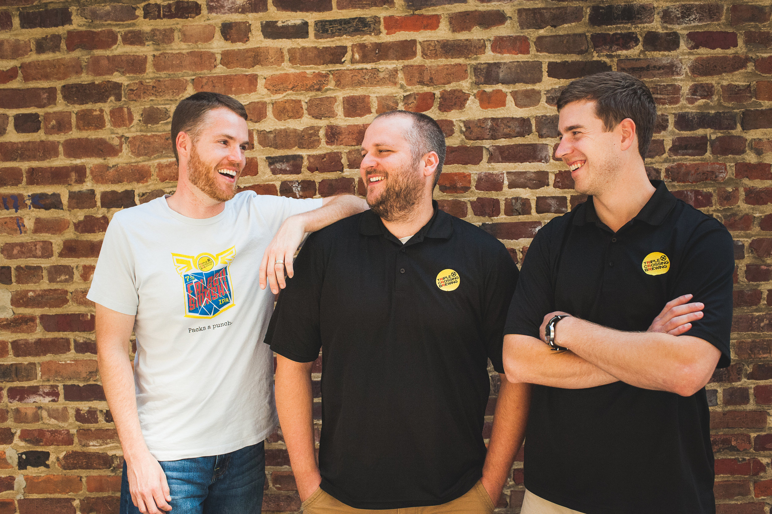 Triple Crossing cofounders (left to right) Adam Worcester, Jeremy Wirtes, and Scott Jones