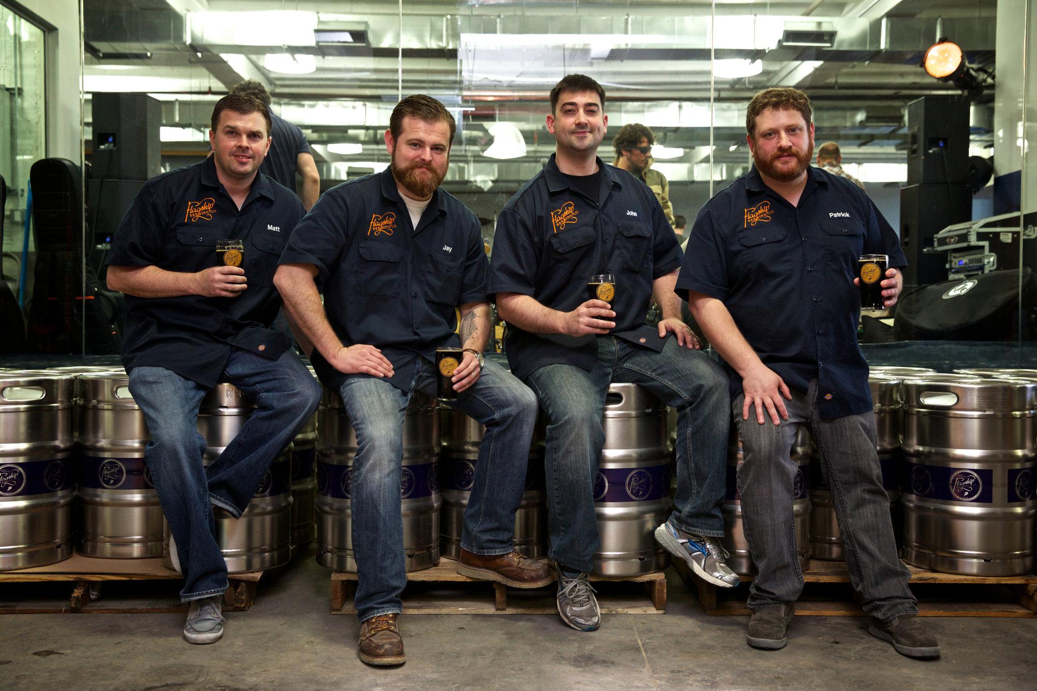 From left to right -  Matthew McGinley  - EVP Sales,  Jay Sykes  - COO/EVP,  John Gordon  - CEO/President,  Patrick Morse  - Head Brewer