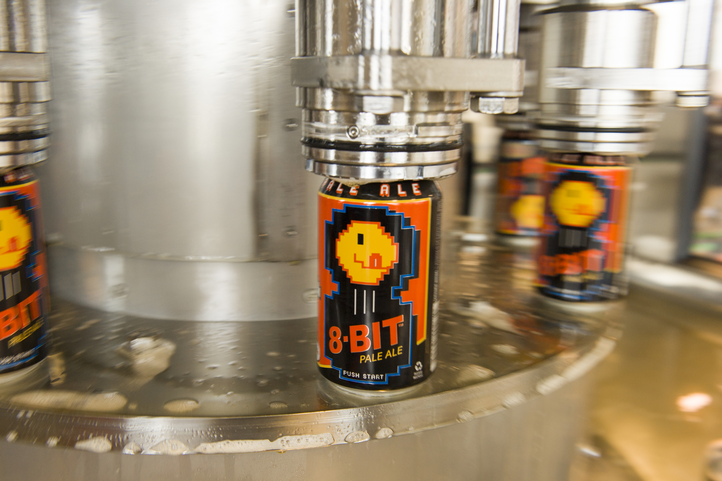 8-bit Pale Ale getting canned