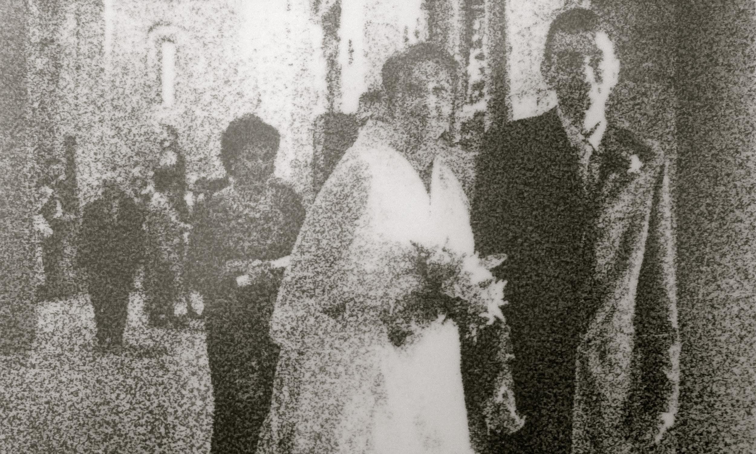 Foto de boda Huesca bn