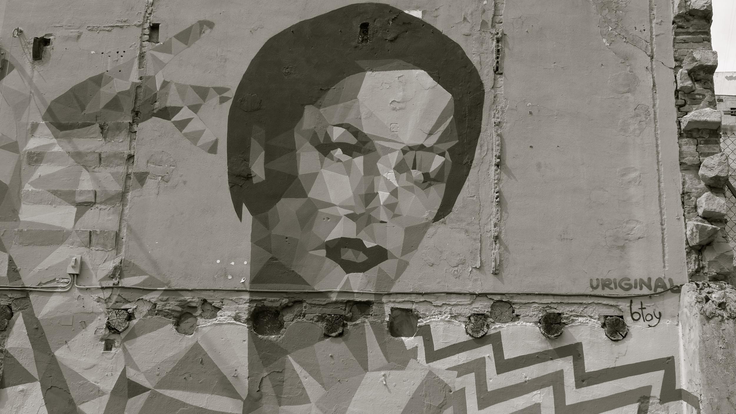 Carmen Amaya Uriginal graffiti