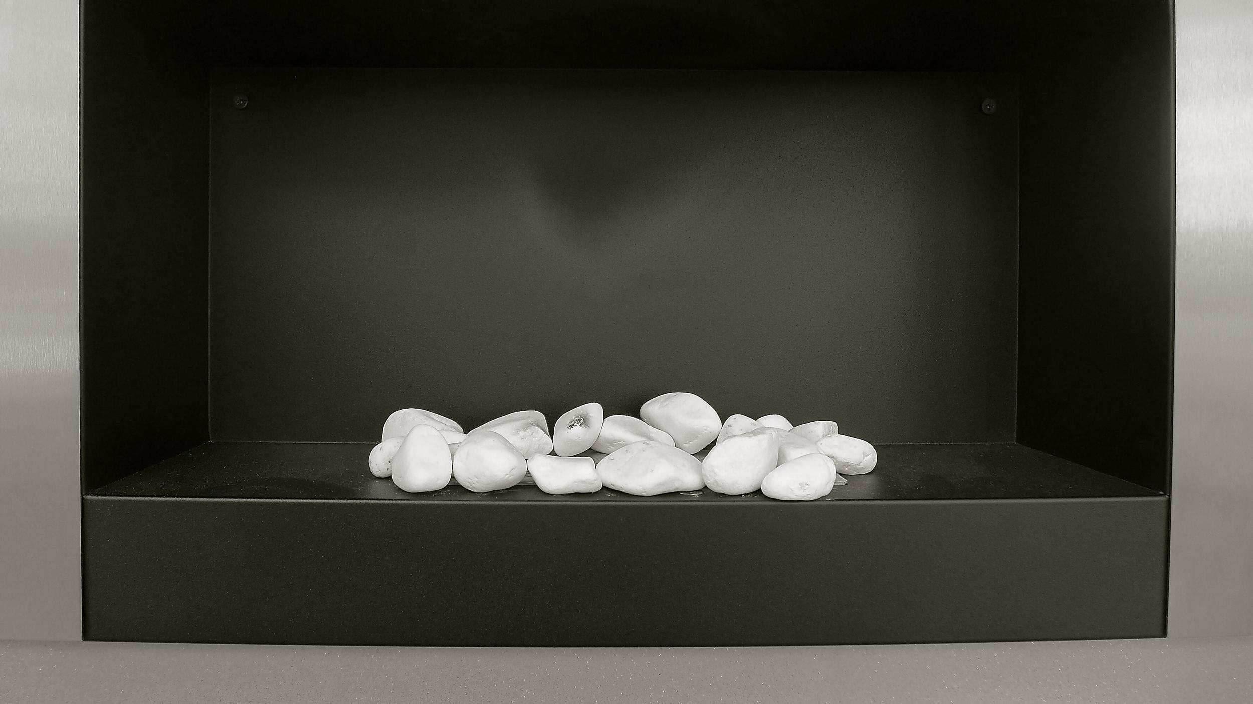Piedras en blanco