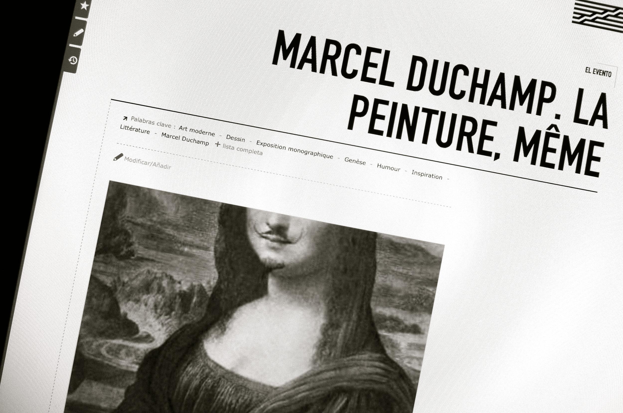 Marcel Duchamp La peinture même