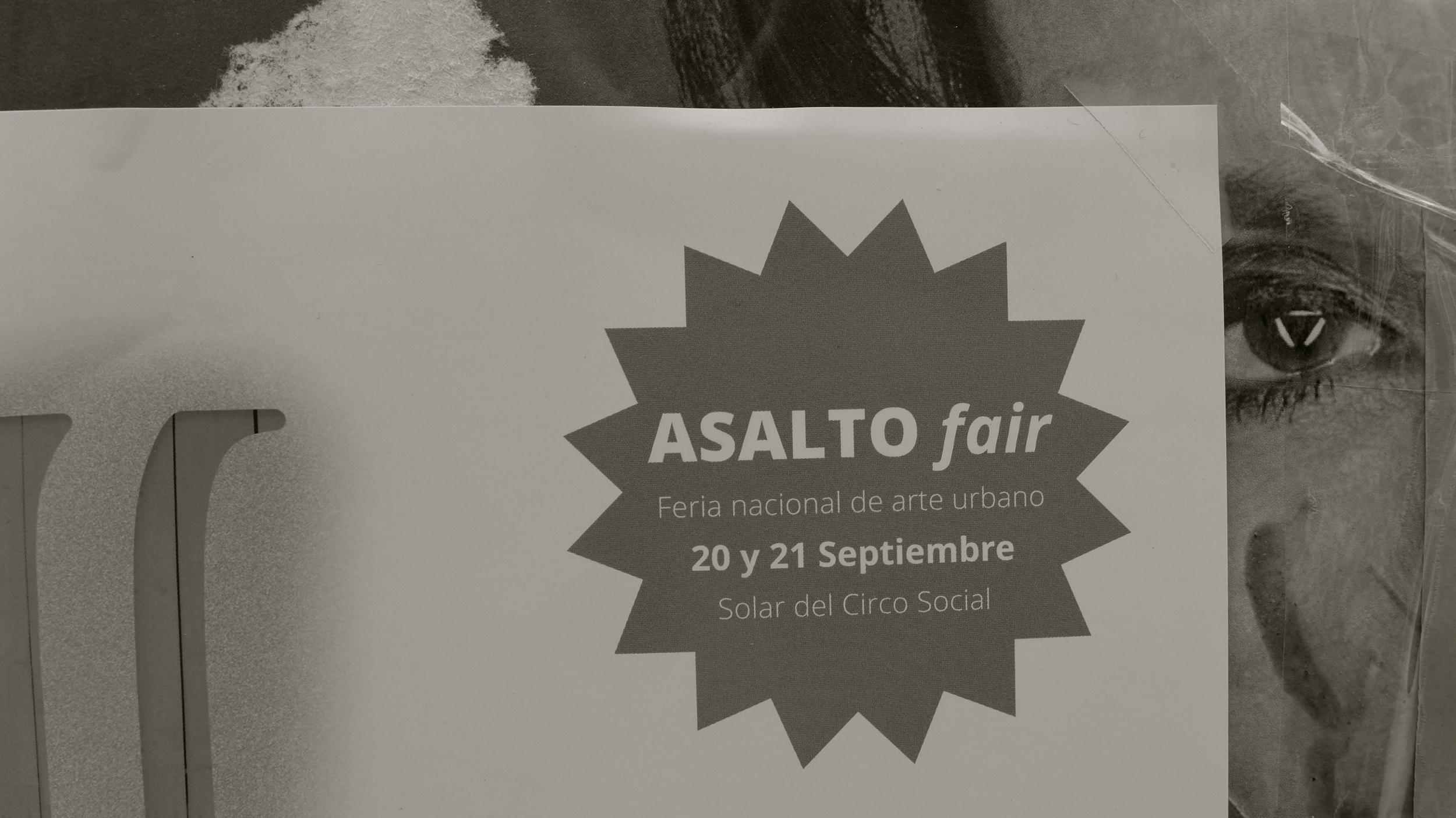 Asalto Fair cartel - 1