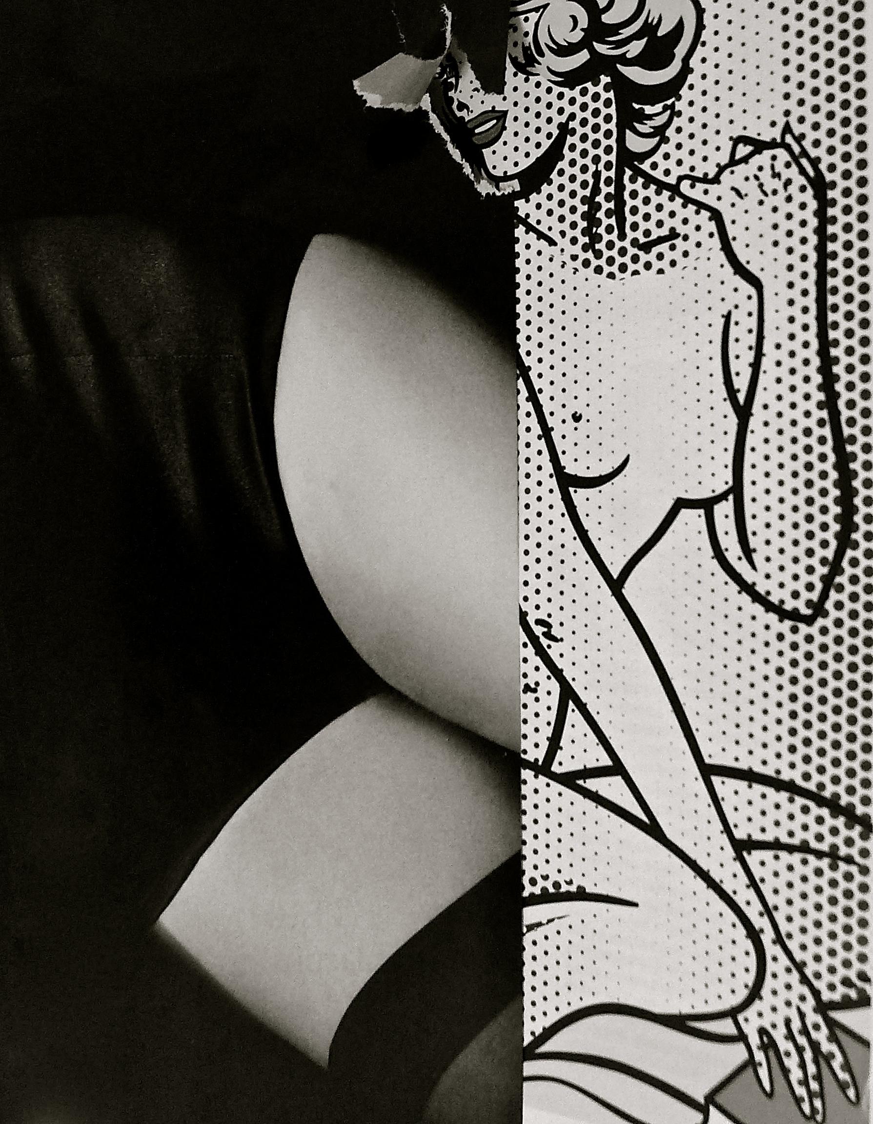 Collage Pop Lichtenstein - 01