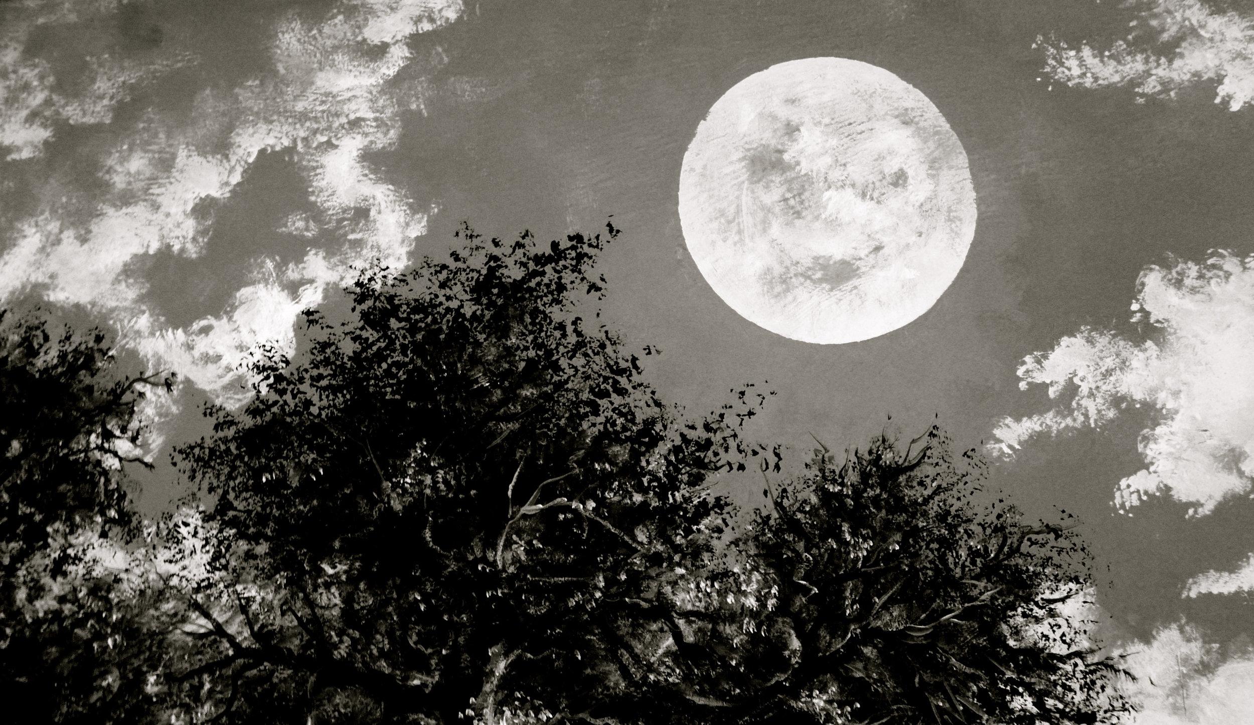 Luna pintura