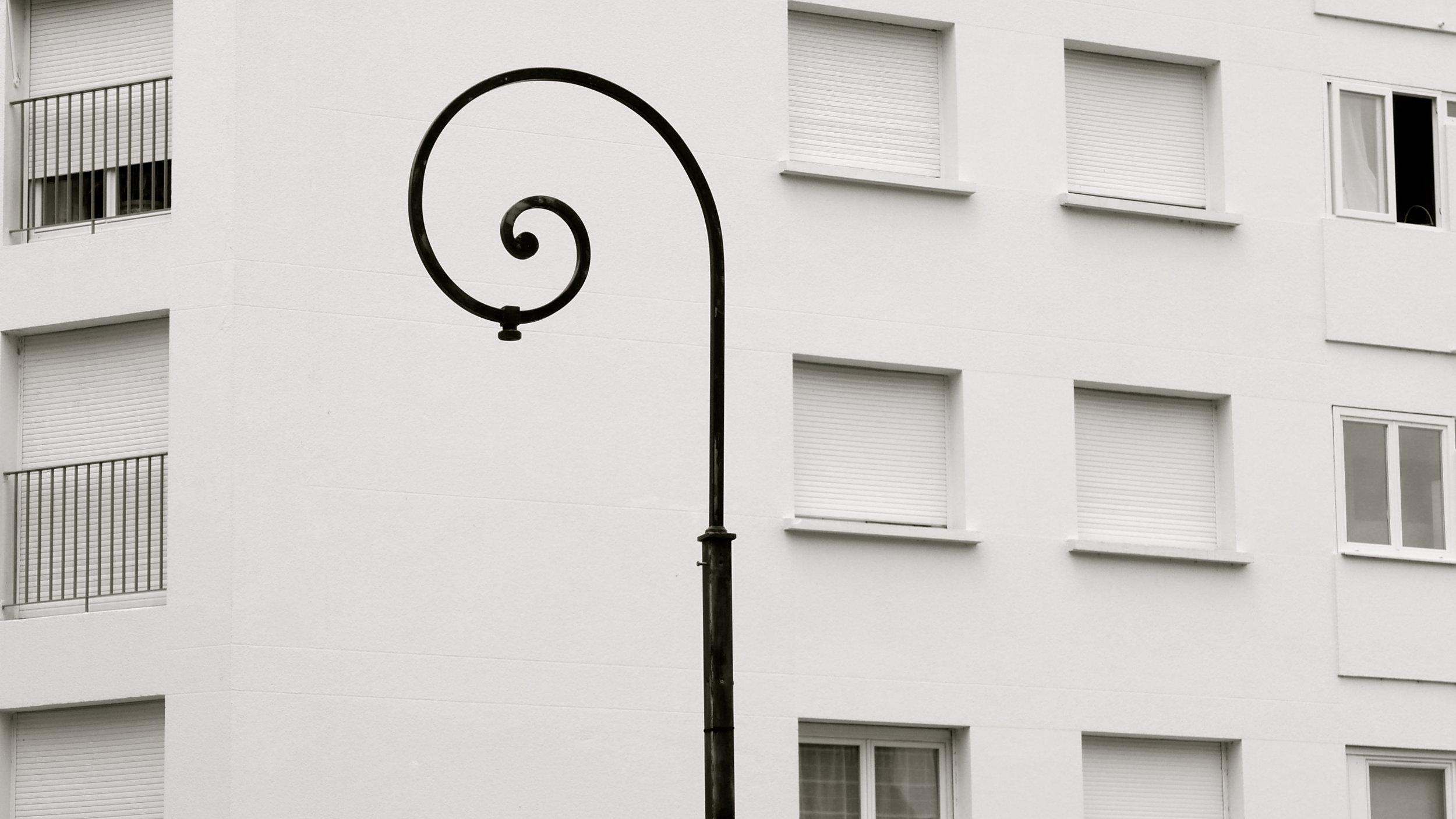 Espiral sin farola