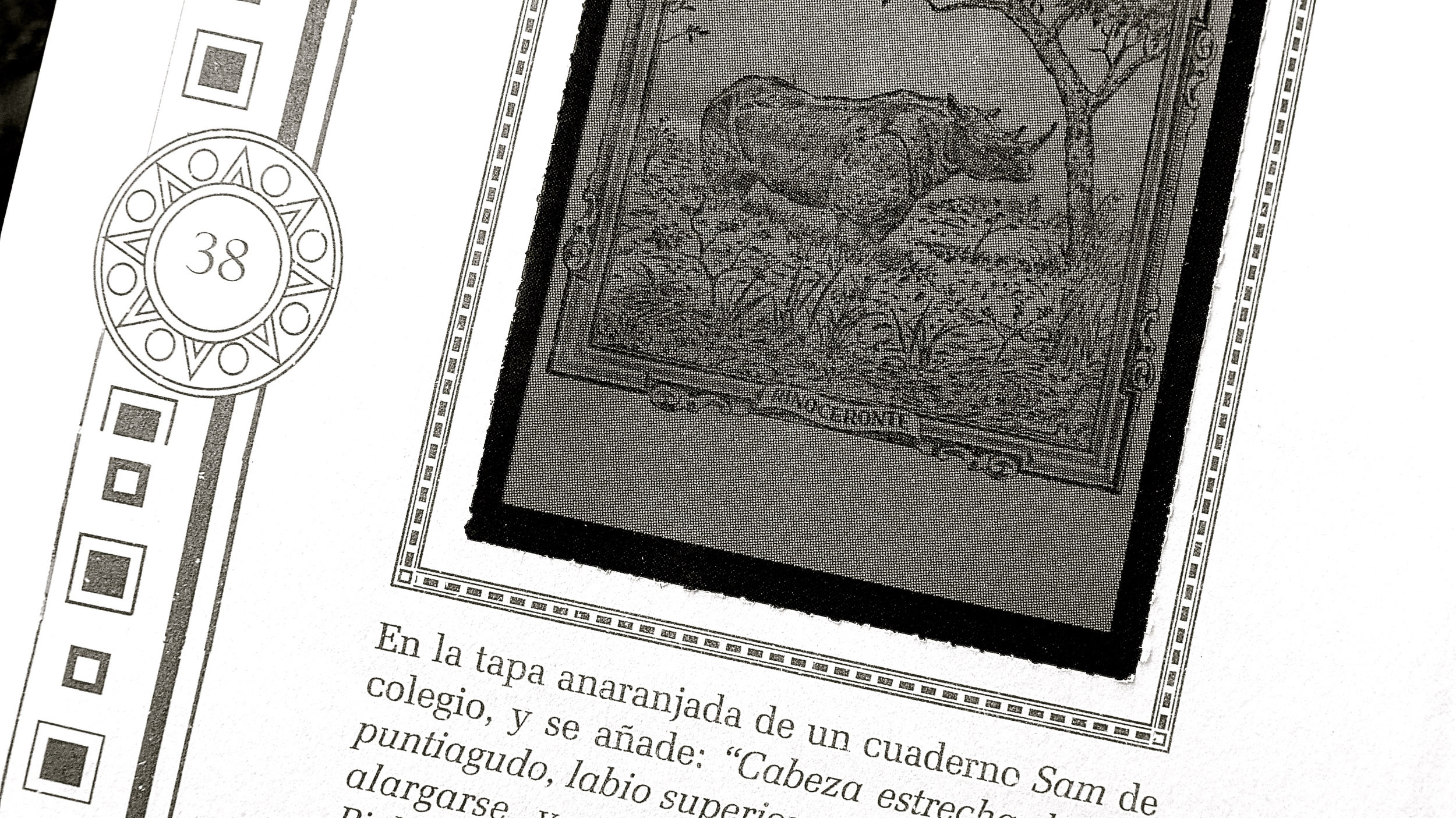 Rinoceronte cuaderno SAM