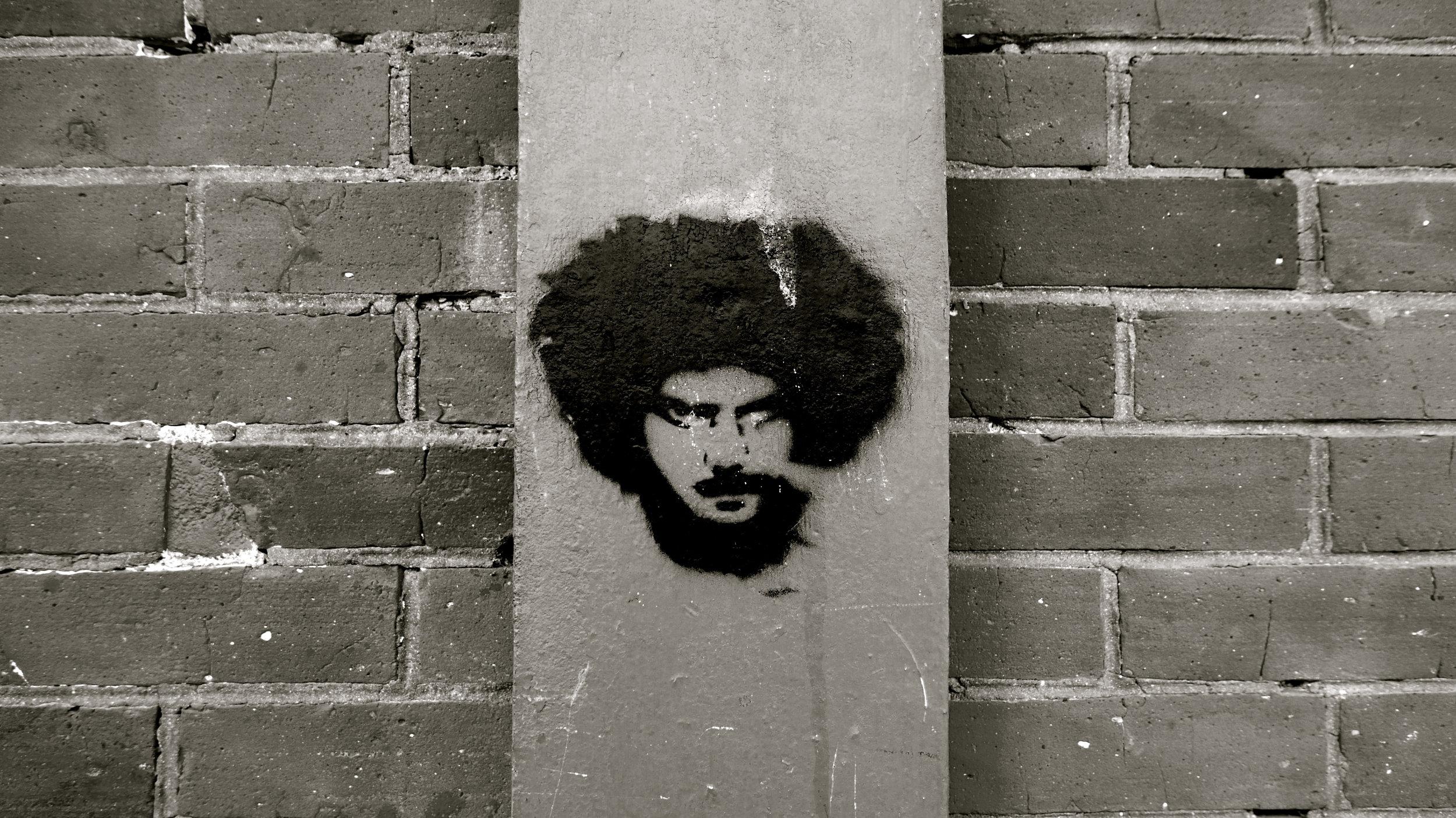 Graffiti afrikan