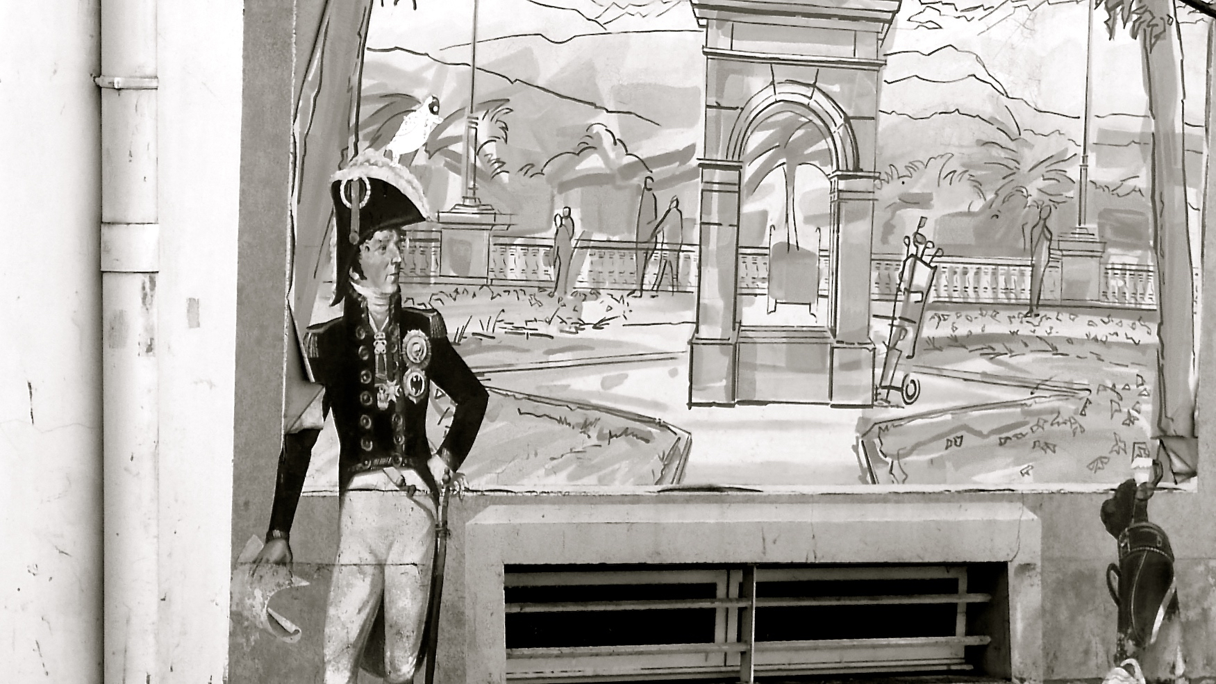 Pau. Graffiti soldado  - Versión 2