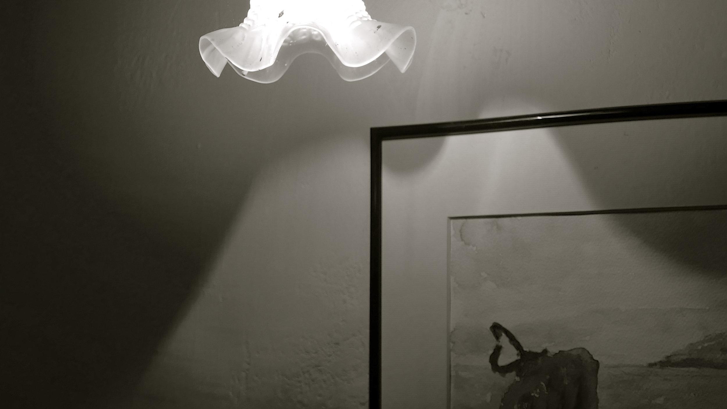 Chillida lámpara La Casona